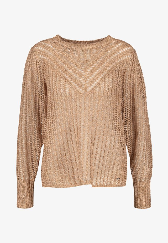 LONG SLEEVE - Trui - toffee melange