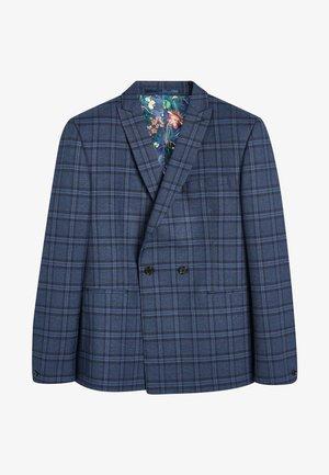 Suit jacket - mottled royal blue
