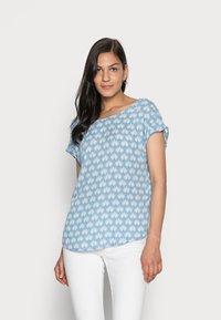 s.Oliver - T-shirt print - blue lagoon - 0