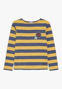 Armor lux - BLOCKCOLOUR - Long sleeved top - jaune/navire - 0