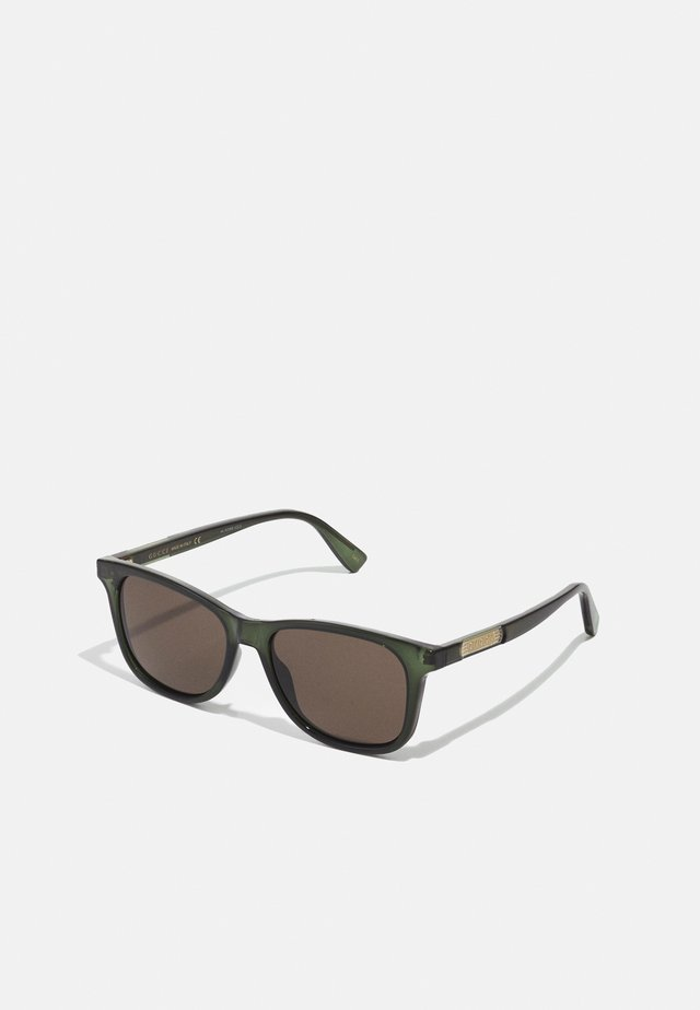 UNISEX - Sunglasses - green/brown
