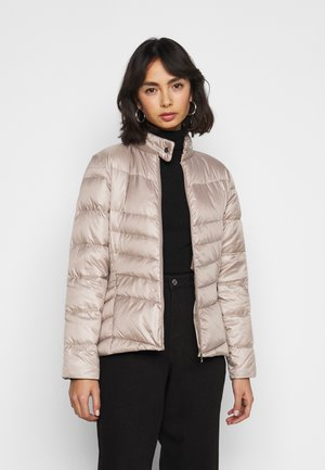 MOTO JACKET - Down jacket - luxe chino
