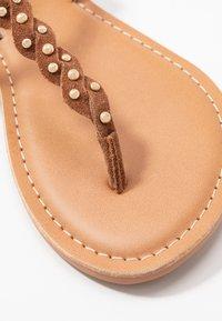 New Look Wide Fit - WIDE FIT GINA - Sandaler m/ tåsplit - tan - 2