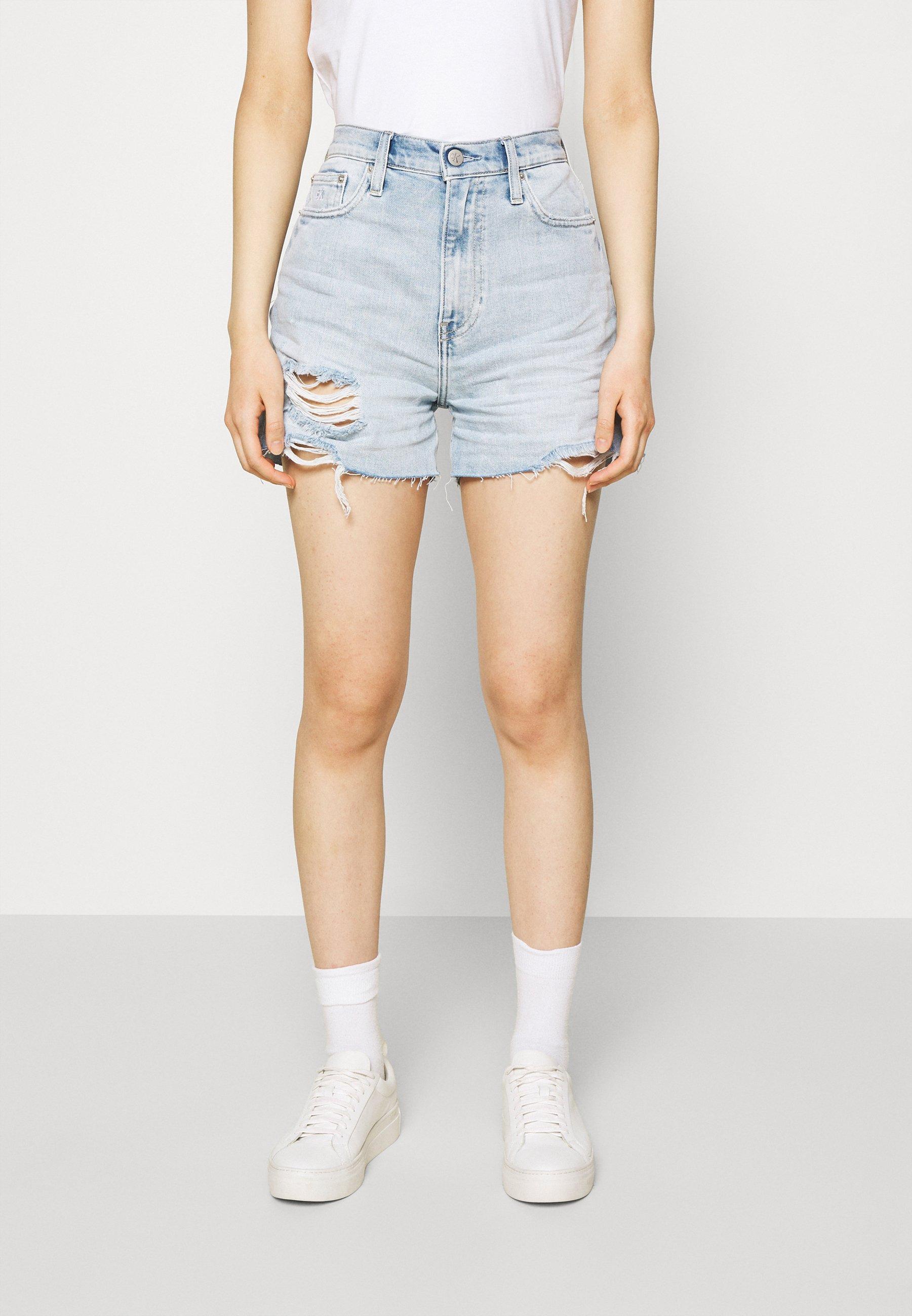Women MOM  - Denim shorts
