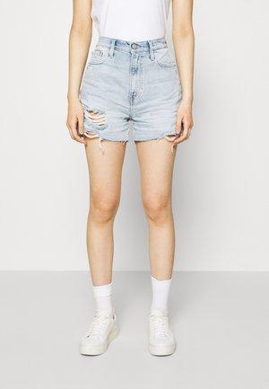 MOM  - Denim shorts - blue