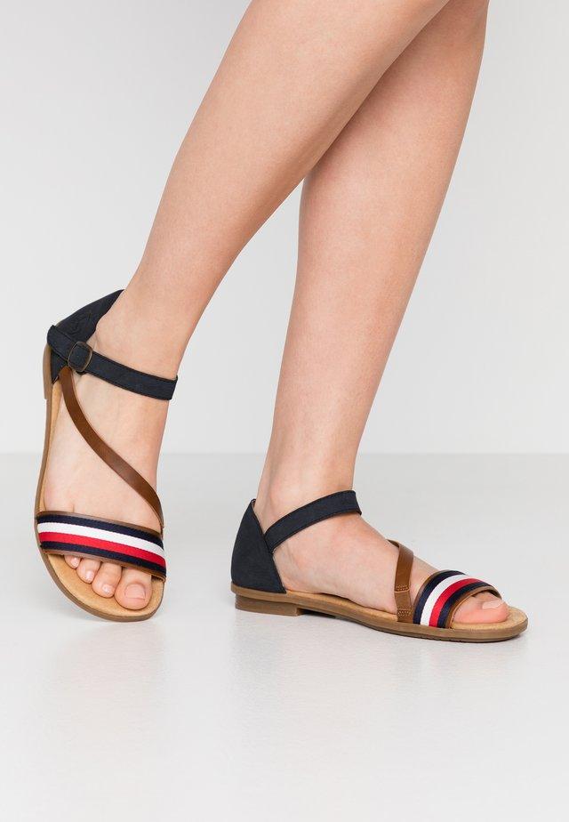 Sandály - amaretto/pazifik