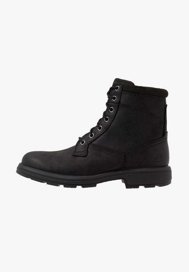 BILTMORE WORKBOOT - Stivaletti stringati - black