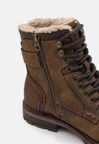 TOM TAILOR - Veterboots - brown - 5