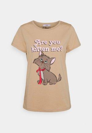 ONLDISNEY MIX BOX - Print T-shirt - humus