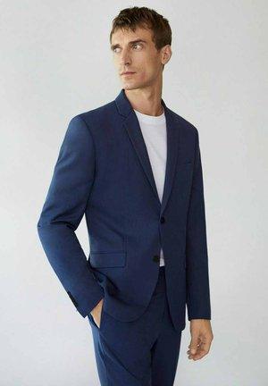 PAULO - Blazer jacket - tintenblau