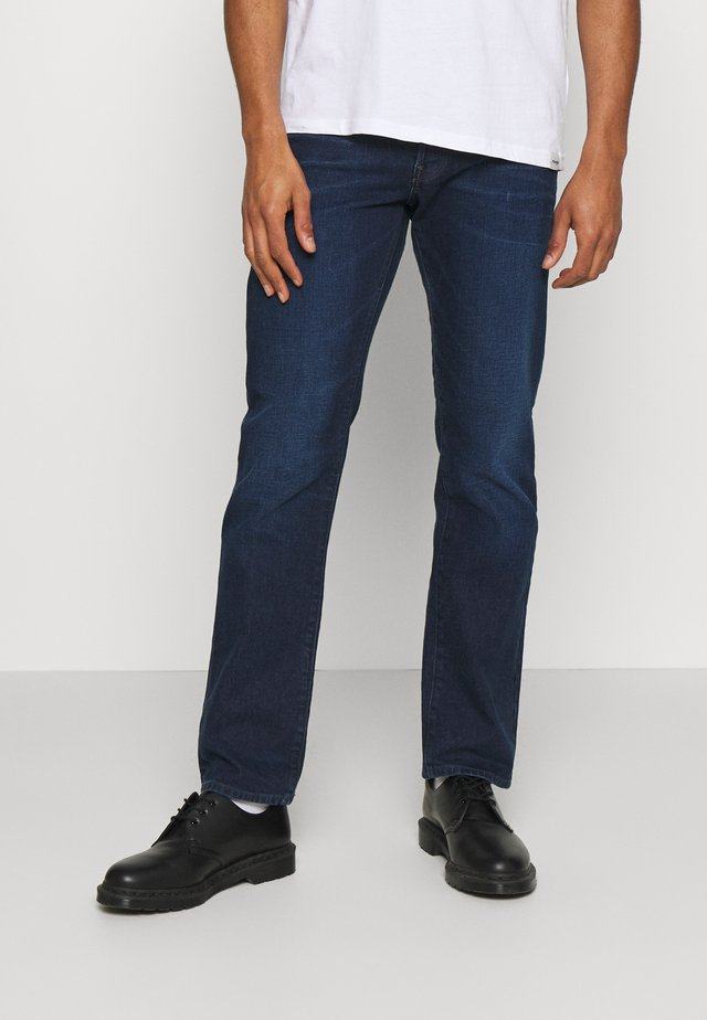 3301 STRAIGHT - Jeans a sigaretta - ultramarine