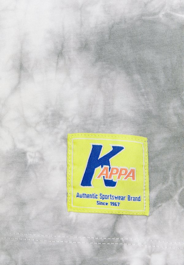 Kappa IVES - T-shirt z nadrukiem - bright white/biały Odzież Męska RVBA