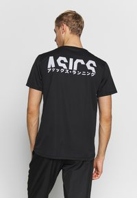 ASICS - KATAKANA  - T-shirt print - performance black - 2