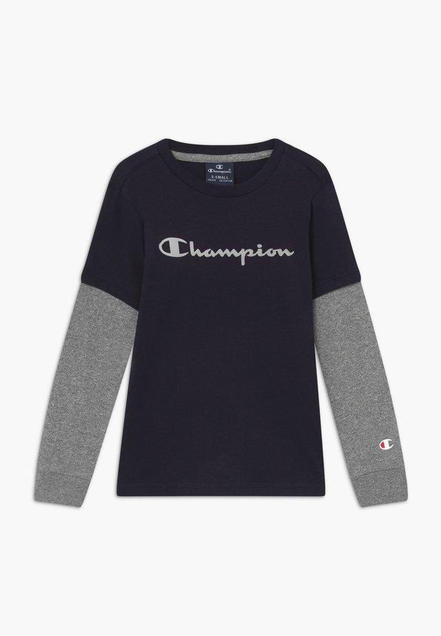 LEGACY AMERICAN CLASSICS LONG SLEEVE CREWNECK - Langærmede T-shirts - dark blue