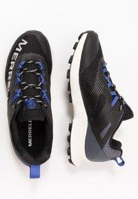 Merrell - MTL LONG SKY - Trail running shoes - black/dazzle - 1