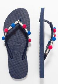 Havaianas - SLIM BOHO - Pool shoes - navy blue - 4
