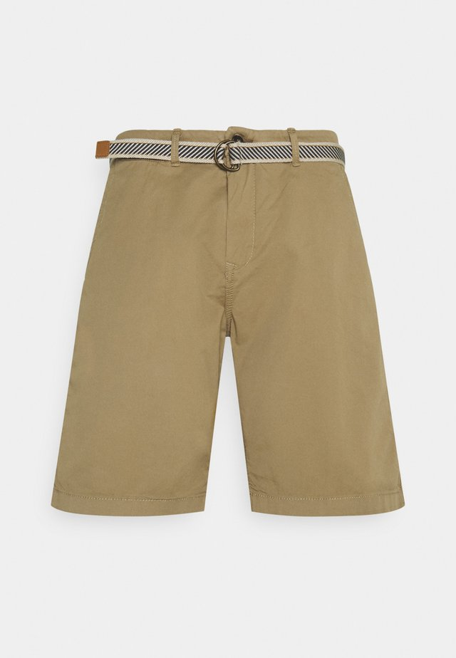 Kraťasy - beige/camel