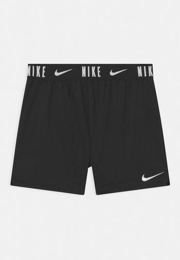TROPHY - Sports shorts - black/white