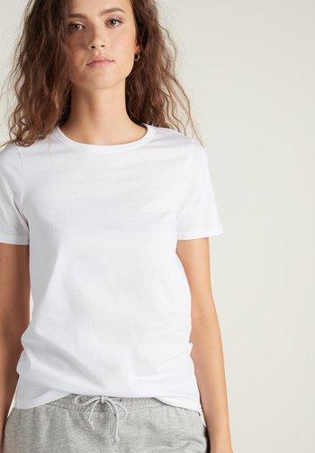 BASIC - Print T-shirt - bianco