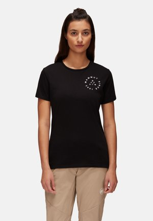 Print T-shirt - black prt2