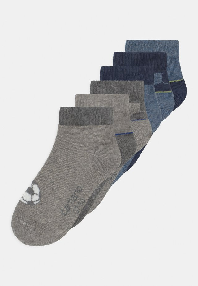 QUARTERS FOOTBALL 6 PACK - Socken - blue