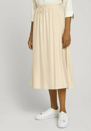 A-line skirt - maple cream