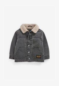 BORG - Denim jacket - grey