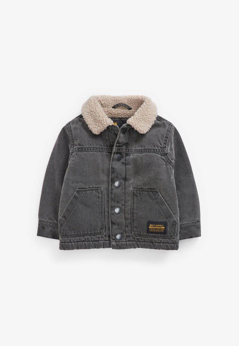 Next - BORG - Denim jacket - grey