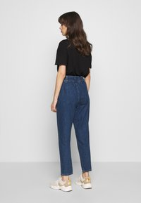 Benetton - TROUSERS - Relaxed fit jeans - dark blue - 2