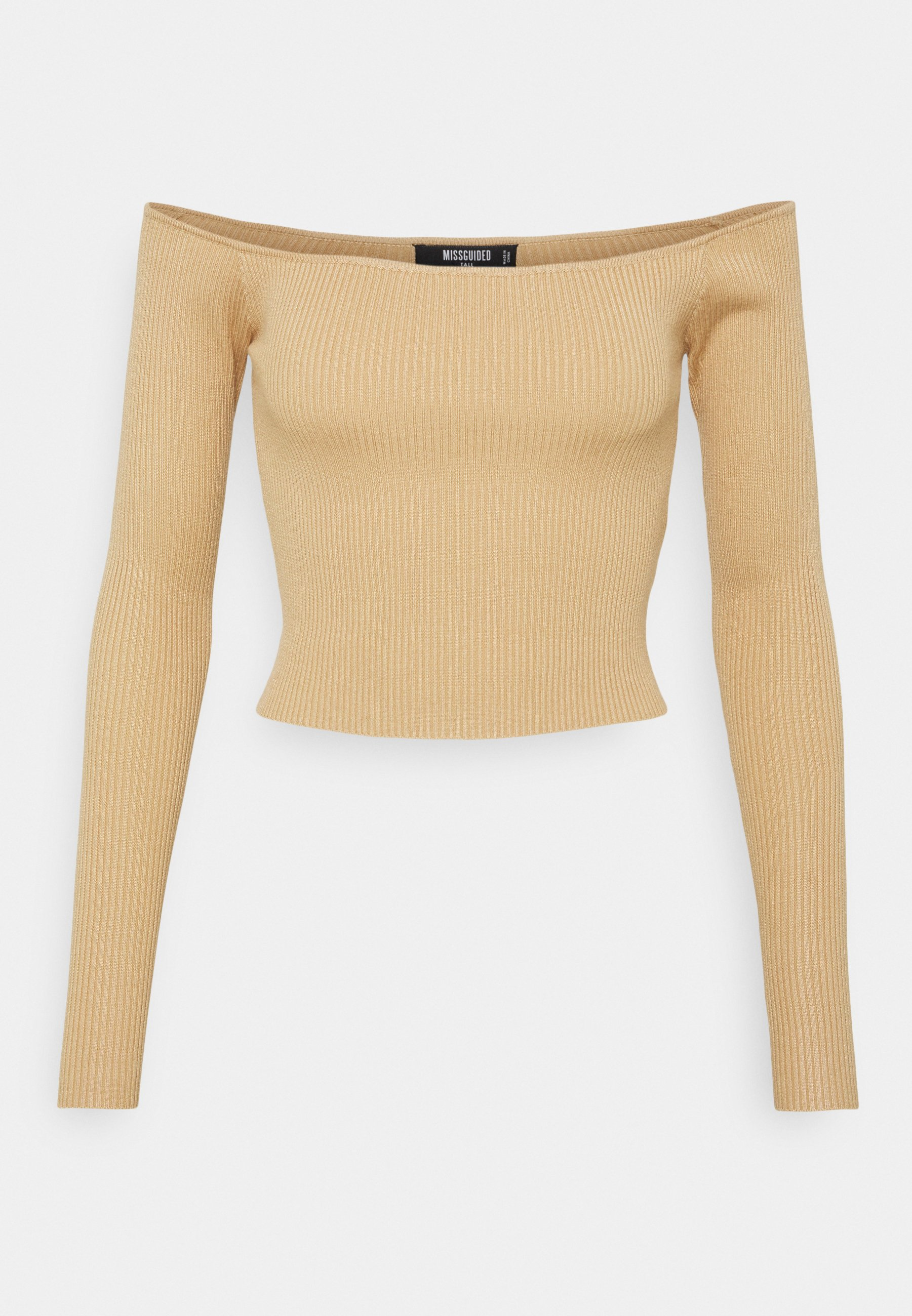 Women CROPPED JUMPER - Long sleeved top