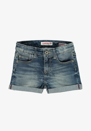 DAIZY - Denim shorts - darkblue