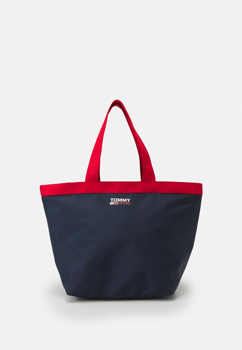Tommy Jeans - CAMPUS TOTE - Shopping bag - blue