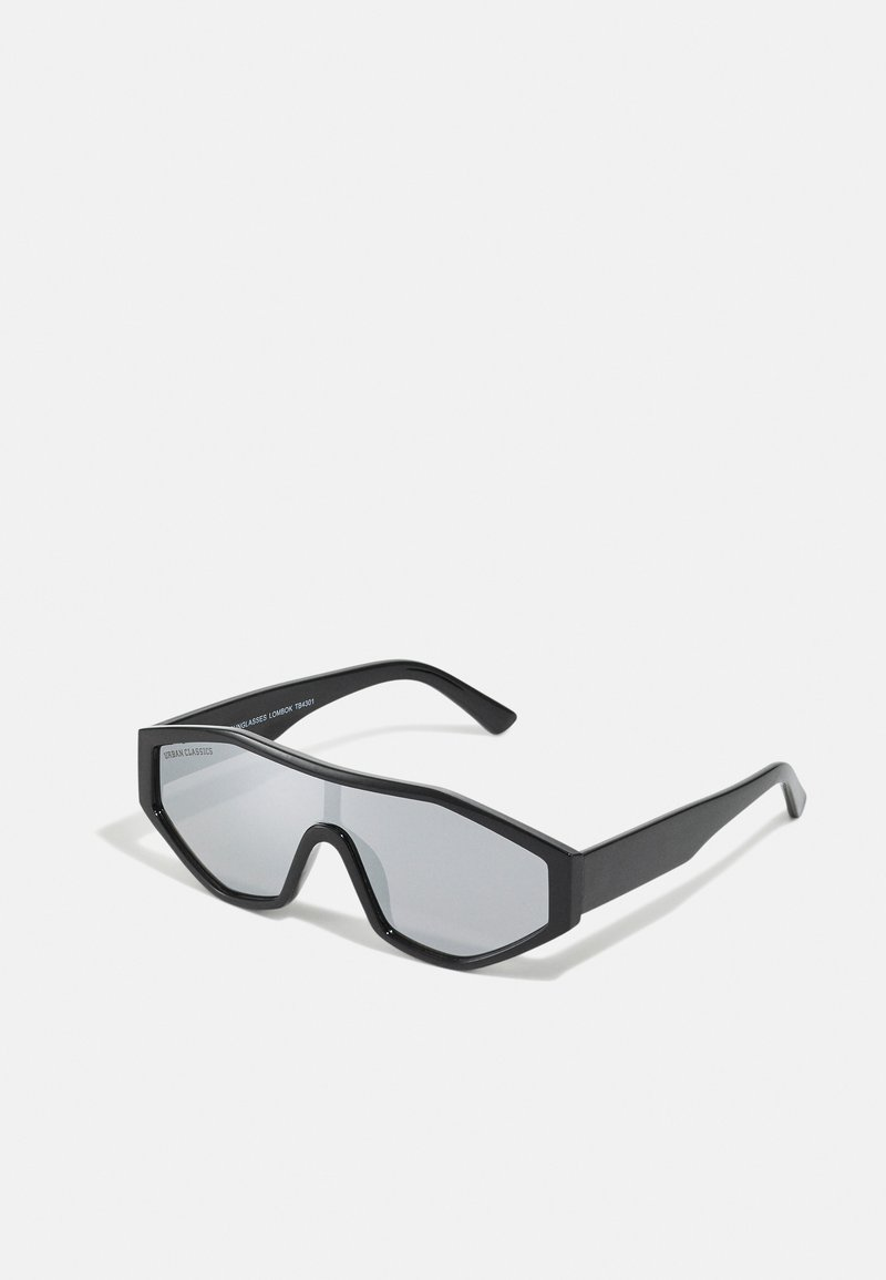 Urban Classics - SUNGLASSES LOMBOK UNISEX - Sunglasses - black/silver-coloured