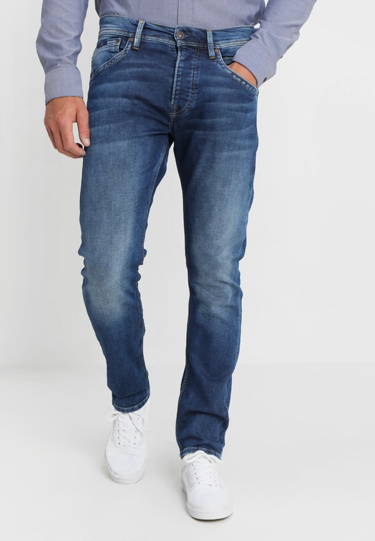 Iso Ale Miesten vaatteet Sarja dfKJIUp97454sfGHYHD Pepe Jeans TRACK Straight leg -farkut 000