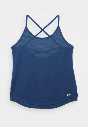 ONE BREATHE TANK - Toppi - court blue/white