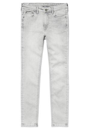 PIXLETTE - Straight leg jeans - denim