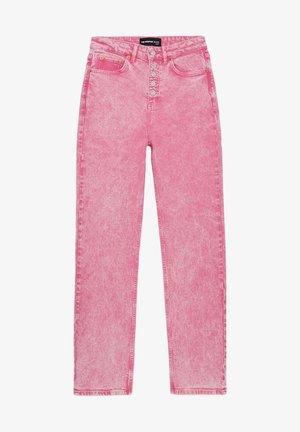 Jeans Straight Leg - fresh pink