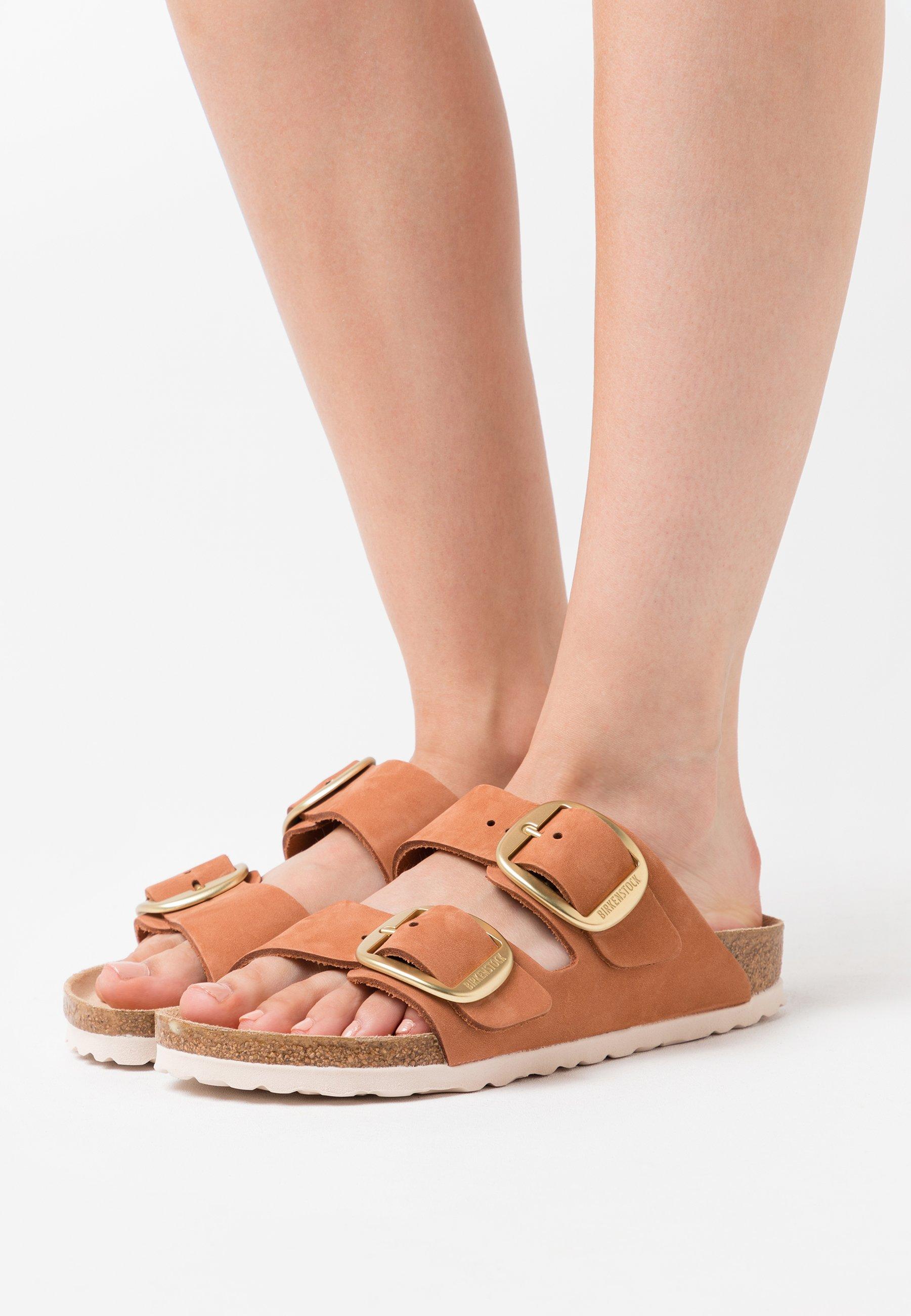 Wholesale Women's Shoes Birkenstock ARIZONA Slippers brandy 7EJRyjSvh