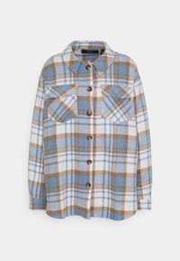 Vero Moda - VMSHAY SHIRT - Skjorte - pristine/allure - 6