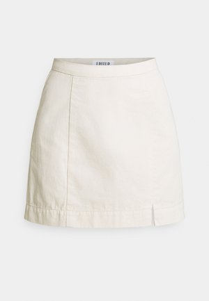 NOVAH SKIRT - Mini skirt - natural neppy beige