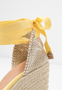 Castañer - CARINA  - High heeled sandals - amarillo/pastel - 2