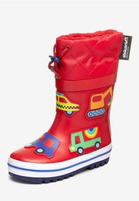 """Next - RED TRANSPORT THINSULATEÂ""""¢ CUFF WELLIES (YOUNGER) - Stivali di gomma - red - 1"""