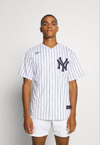 Nike Performance - MLB NEW YORK YANKEES OFFICIAL REPLICA HOME - Klubové oblečení - white/navy - 0