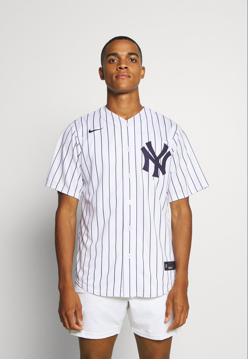 Nike Performance - MLB NEW YORK YANKEES OFFICIAL REPLICA HOME - Klubové oblečení - white/navy