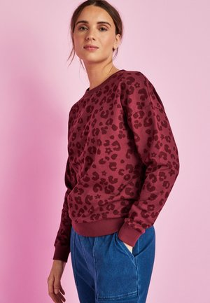 BEE PRINTED  - Sweatshirt - berry