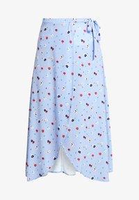 mint&berry - Wrap skirt - light blue - 3
