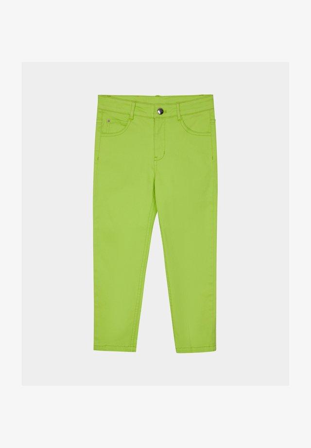 Trousers - neon yellow