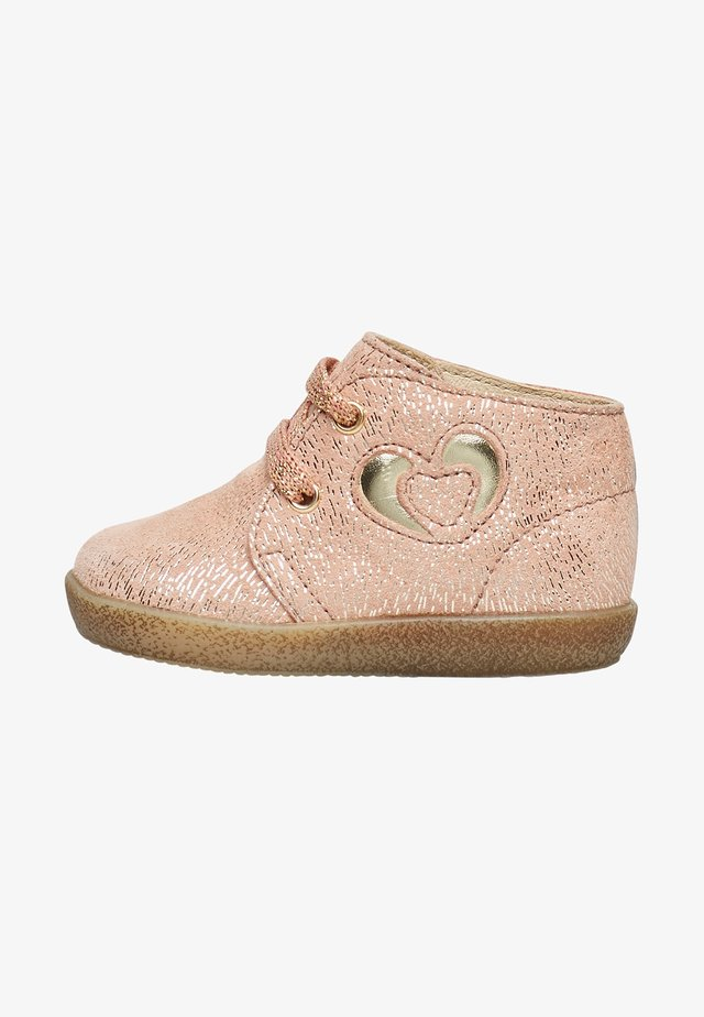CANOPY - Lace-up ankle boots - rosa