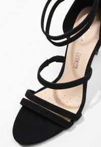 Clarks - CURTAIN STRAP - High heeled sandals - black - 6