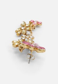 Pieces - PCPELLA EARRINGS - Earrings - gold-coloured/champagne/clear/pink - 1